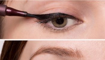 Quick and Easy Eyeliner Trick (2)