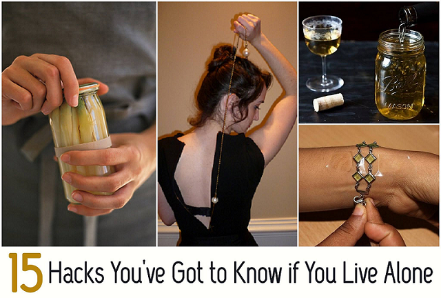 Useful Life Hacks For People Living Alone Alldaychic