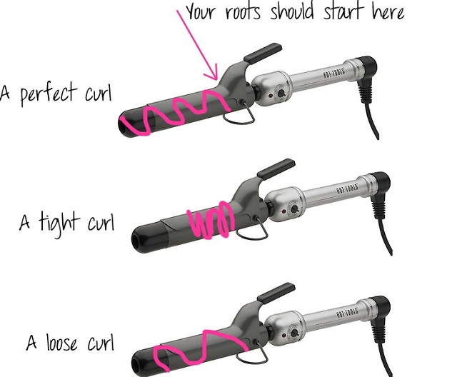 3 Types Of Curls With Hair Curler