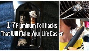 8. Aluminum Foil Hacks That will Change The Way You do Things (2)