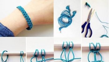 spiral bracelet she pgvqkp diy pin articles and suede living chain completed tutorial