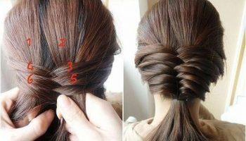 Cute Fishtail Braided Hairstyle Tutorial