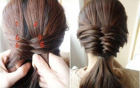 Enjoyable Cute Fishtail Braided Hairstyle Tutorial Alldaychic Hairstyle Inspiration Daily Dogsangcom