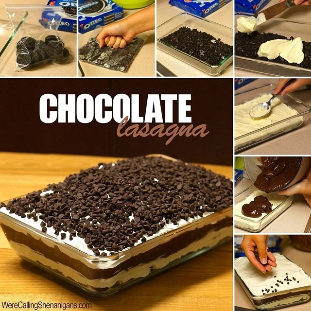 Delicious Chocolate Lasagna Recipe - AllDayChic