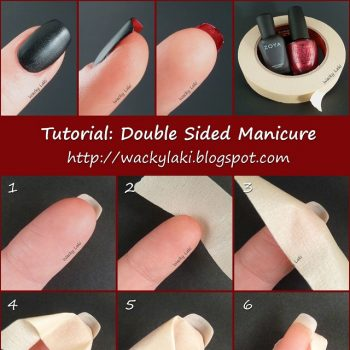 Double Sided Manicure – DIY