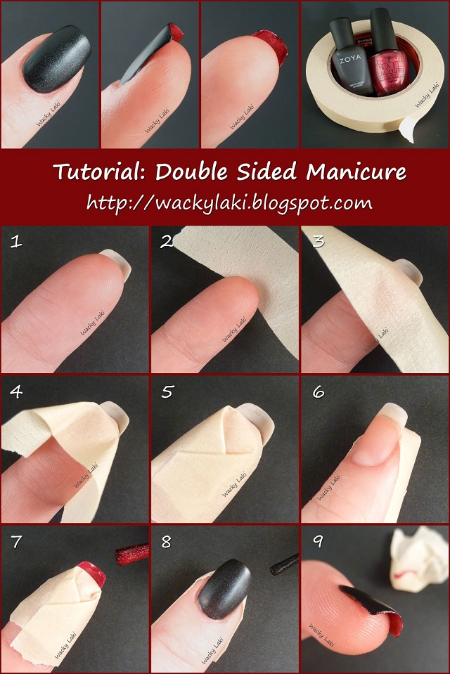 Double Sided Manicure - DIY