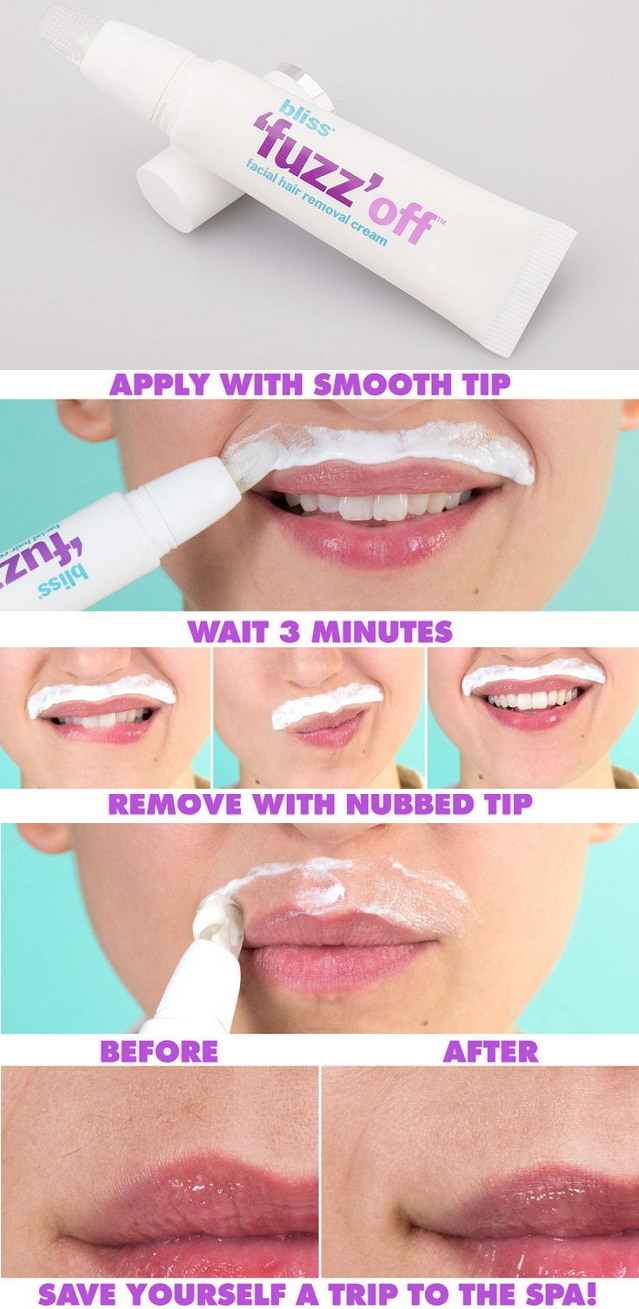 Easy Way To Remove Unwanted Moustache Alldaychic