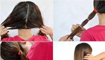 Hair Bands Straightening Technique