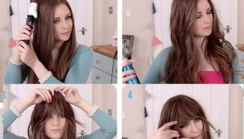 How to get a Look with Bangs without Cutting Your Hair (2)