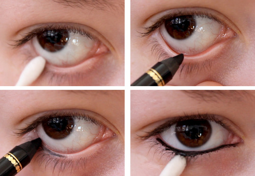 Right Way to Line the Lower Lash Line