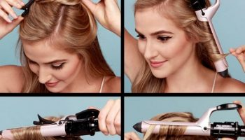 Soft Vintage Waves Hair Tutorial (2)