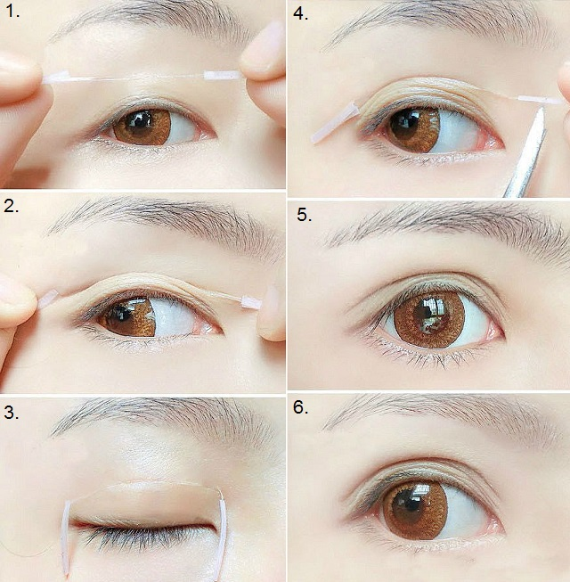 How To Create Bigger Eyes With Double Eyelid Trick Alldaychic