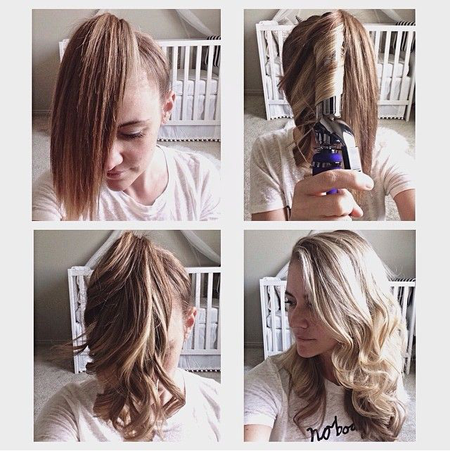 Fast Hair Curling Technique  AllDayChic