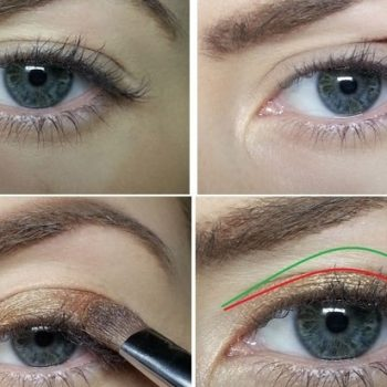 Correct Sagging Eyelids with This Amazing Makeup Idea – Tutorial (3)