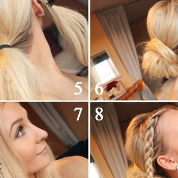 Easy Steps in Making a Beautiful Bun
