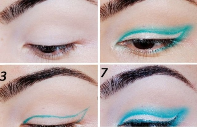 Gorgeous Blue Winged Eye Makeup Tutorial Alldaychic