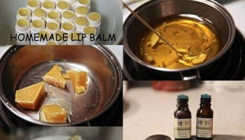Homemade Natural Lip Balm – DIY