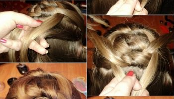 Knotted Braid Hairstyle (2)