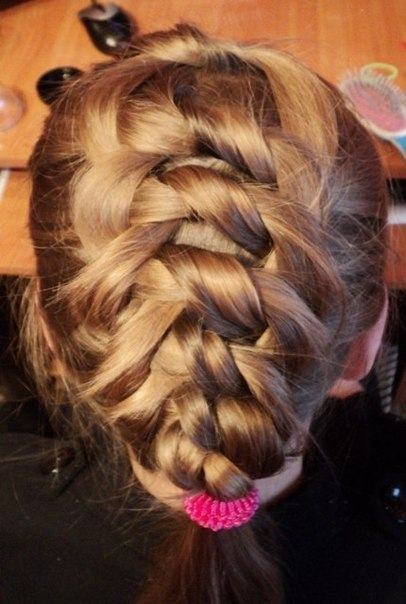 Knotted Braid Hairstyle