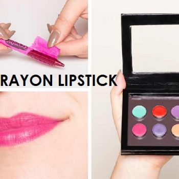 Lipstick Made of Crayons – DIY