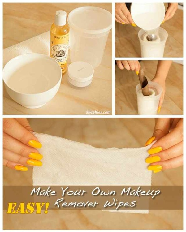 How To Make Your Own Makeup Remover Wipes At Home Alldaychic