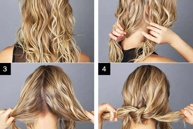 Pleasing Messy Bun Hairstyle Tutorial Alldaychic Hairstyle Inspiration Daily Dogsangcom