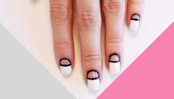 Negative Space Nails Tutorial – DIY