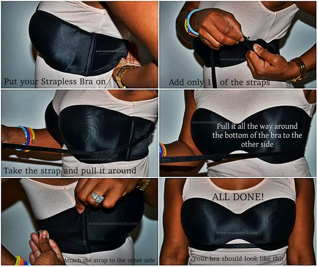 The Easiest Diy For A Backless Bra Alldaychic