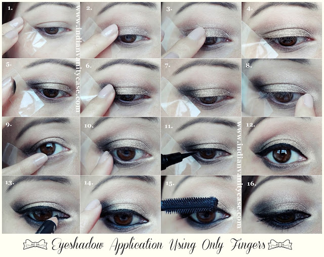 Apply Eyeshadow With Fingers And Create An Amazing Look Alldaychic
