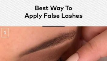 Best Way to Apply Fake Eyelashes