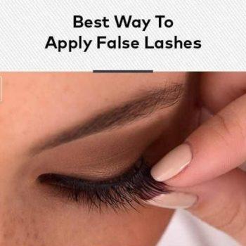 Best Way to Apply Fake Eyelashes