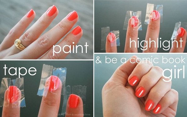 How to Make Highlights to Your Nails