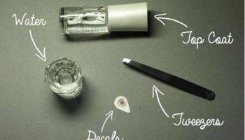 How to Make Rose Nails – DIY