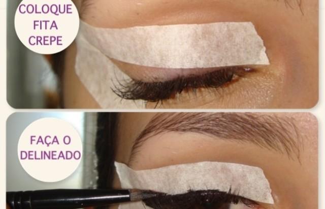 Vintage Eyeliner Tutorial Using Tape Alldaychic