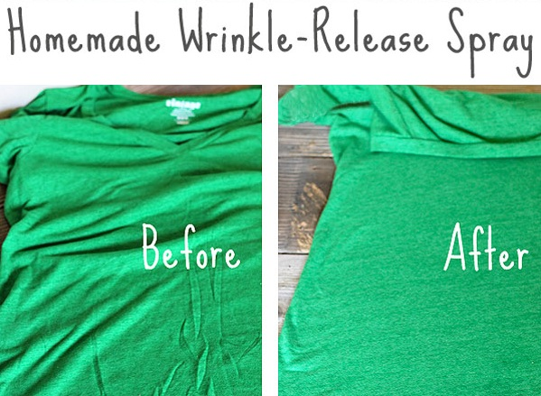 Homemade Wrinkle Release Spray