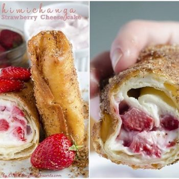 Chimichangas With Strawberry Cheesecake – DIY Recipe