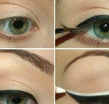 Double Eyeliner Makeup Tutorial (2)