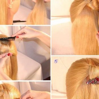 Easy Hairstyle For Special Occasions (2)