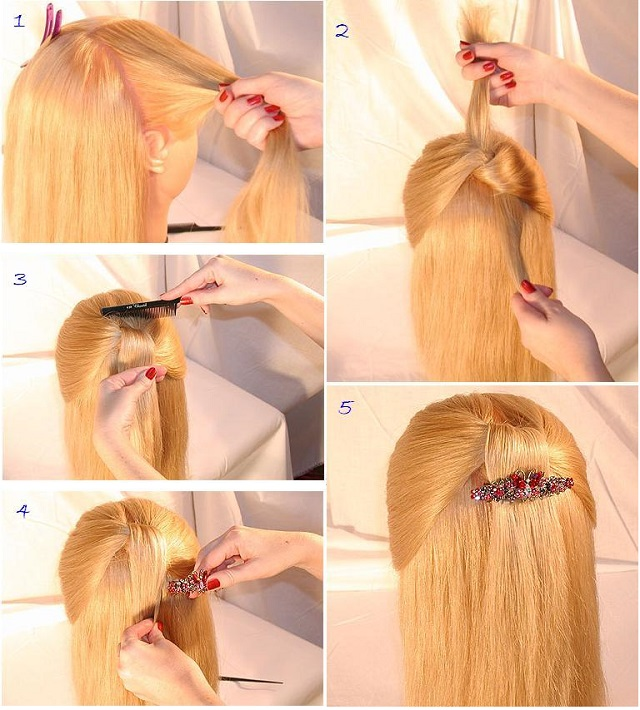 simple style for hair process hairstyle hair style ideas 2014 for smartest 8073