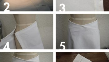 Easy to Make Envelope Wrap Skirt – DIY (3)