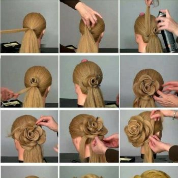 Flower-Hairstyle-Tutorial-for-Special-Events