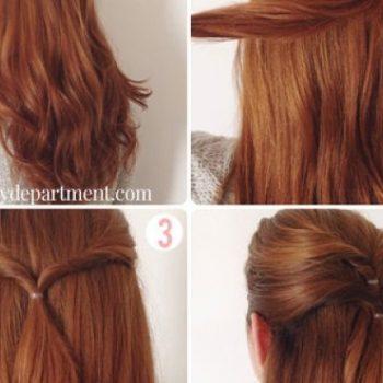 Glamorous Hairstyle Tutorial (2)