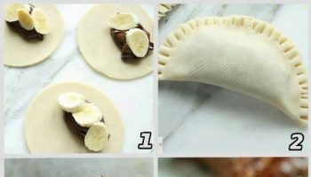 Hand Pies With Nutella And Banana – DIY Recipe