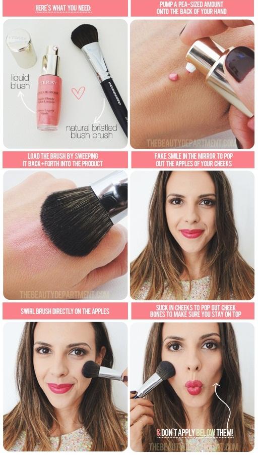 How To Apply Liquid Blush - Tutorial