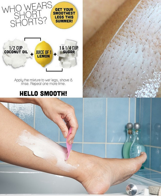 How To Make Smooth and Silky Legs - DIY