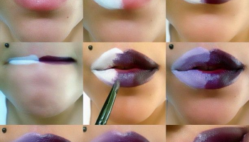 How To Make Unusual Purple Lips