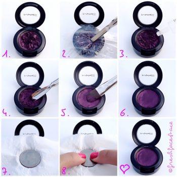How to Fix a Broken Eyeshadow