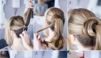 Large Twisted Bun Hairstyle Tutorial