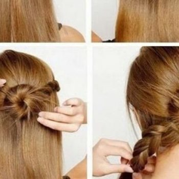 Lovely And Interesting Hairstyle Tutorial (2)