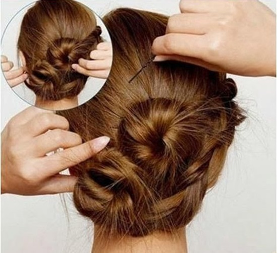 Lovely And Interesting Hairstyle Tutorial